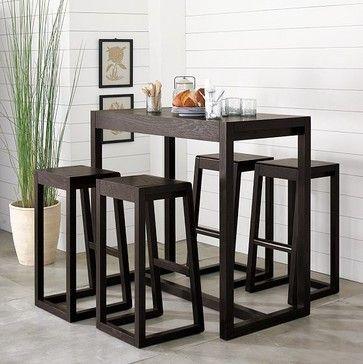 Alto Bar Table Modern Bar Tables Table And Chairs Modern - West elm high table
