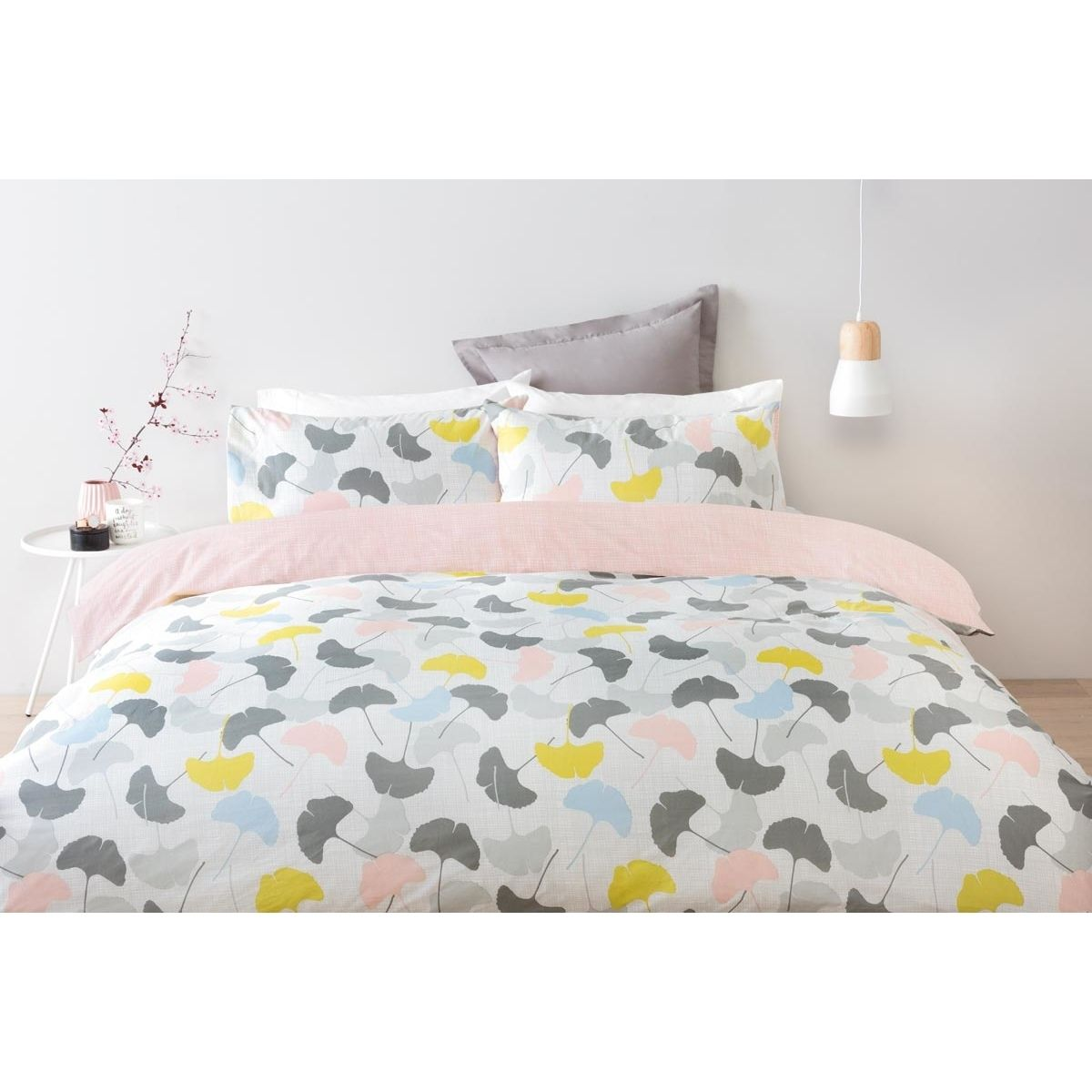 Ginko Quilt Cover Set - Double Bed | Kmart | Property styling ... : quilt double bed - Adamdwight.com