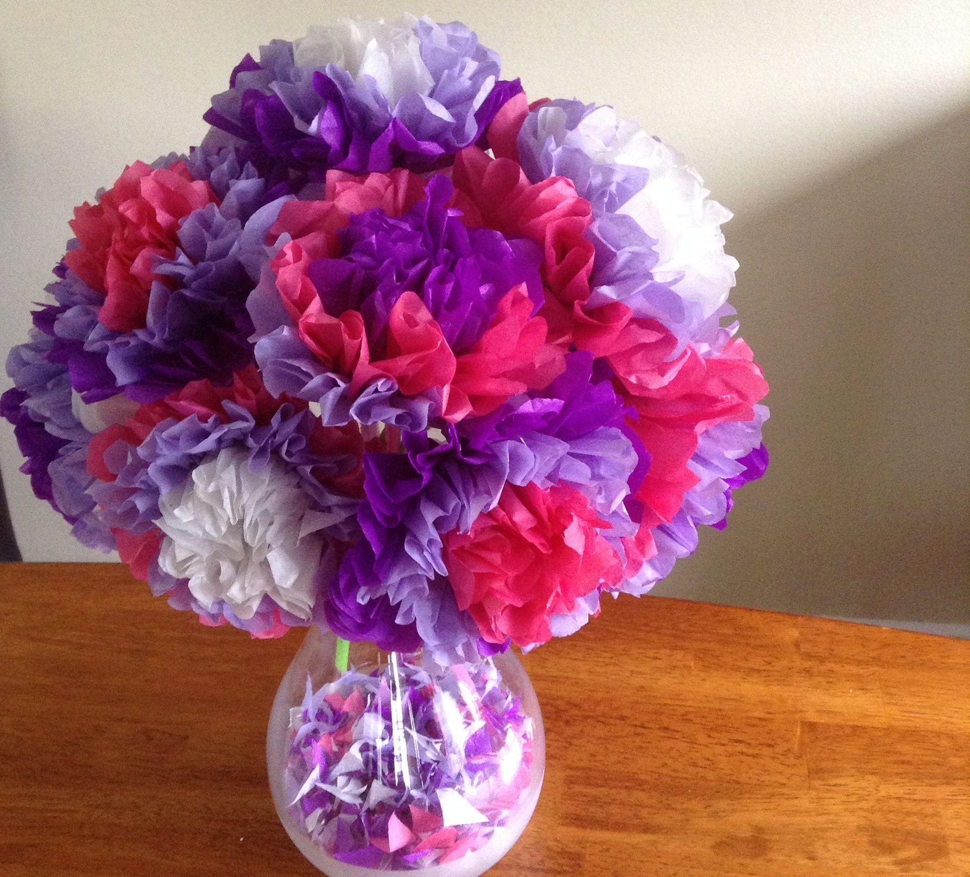 Easy Tissue Paper Flowers Wedding Dreams Pinterest Paper