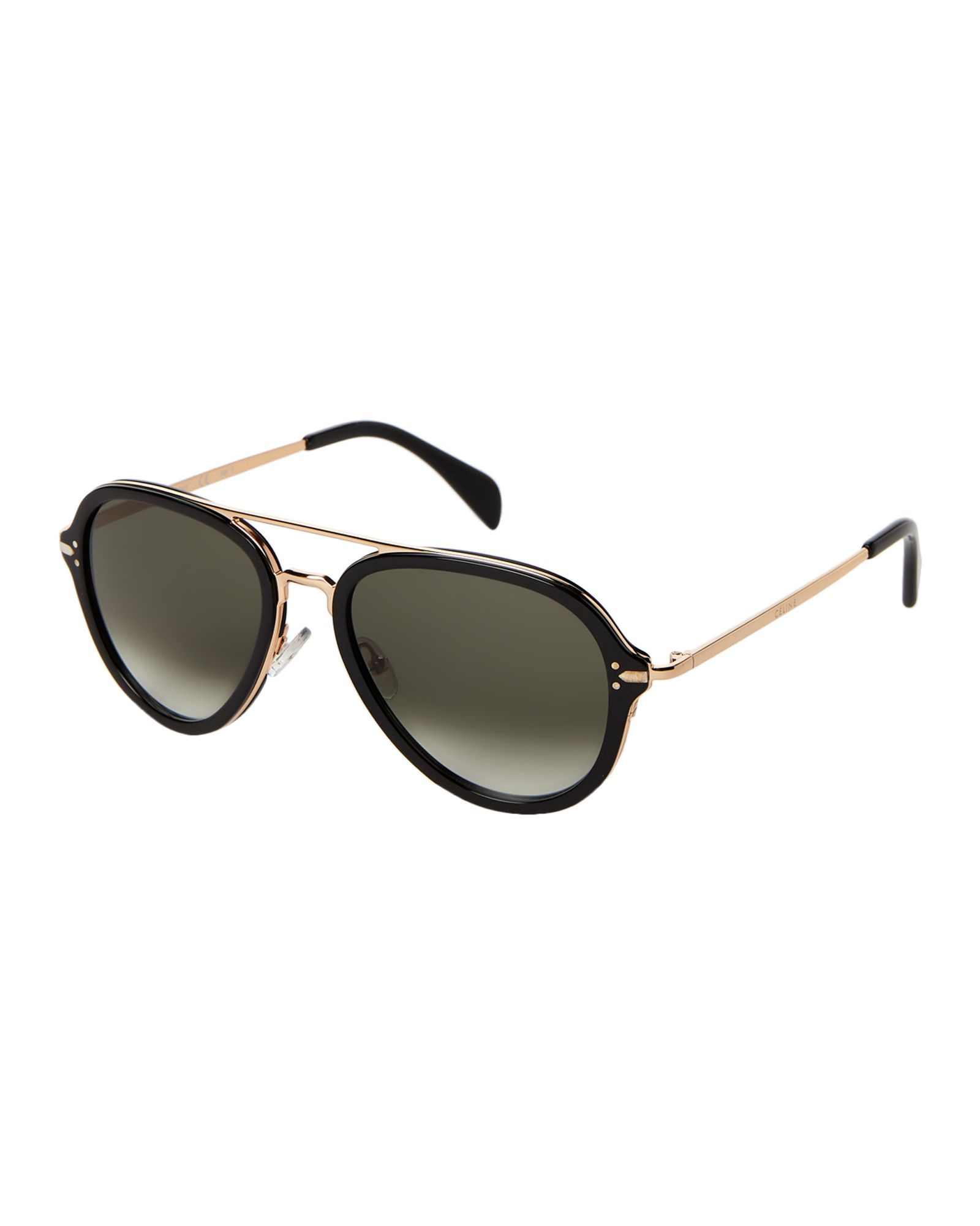 c8671cf8c Celine CL 41374/S Black Aviator Sunglasses | *Apparel & Accessories ...