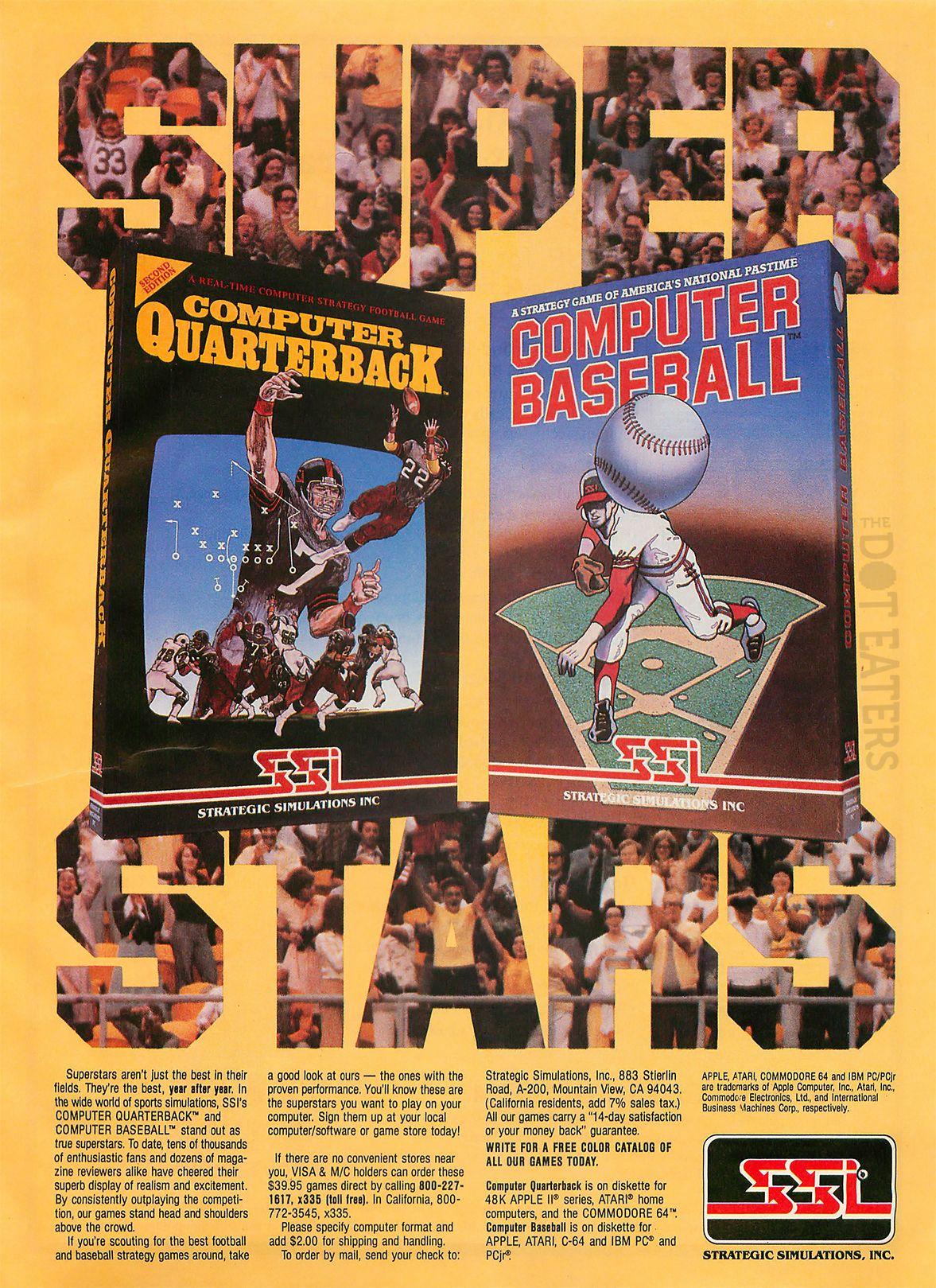 Computer Quarterback, an early game by M.U.L.E. creator