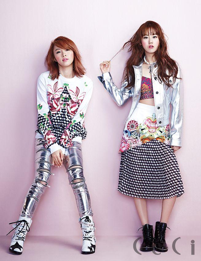 Jiyoon & Gayoon - Céci Magazine April Issue '14
