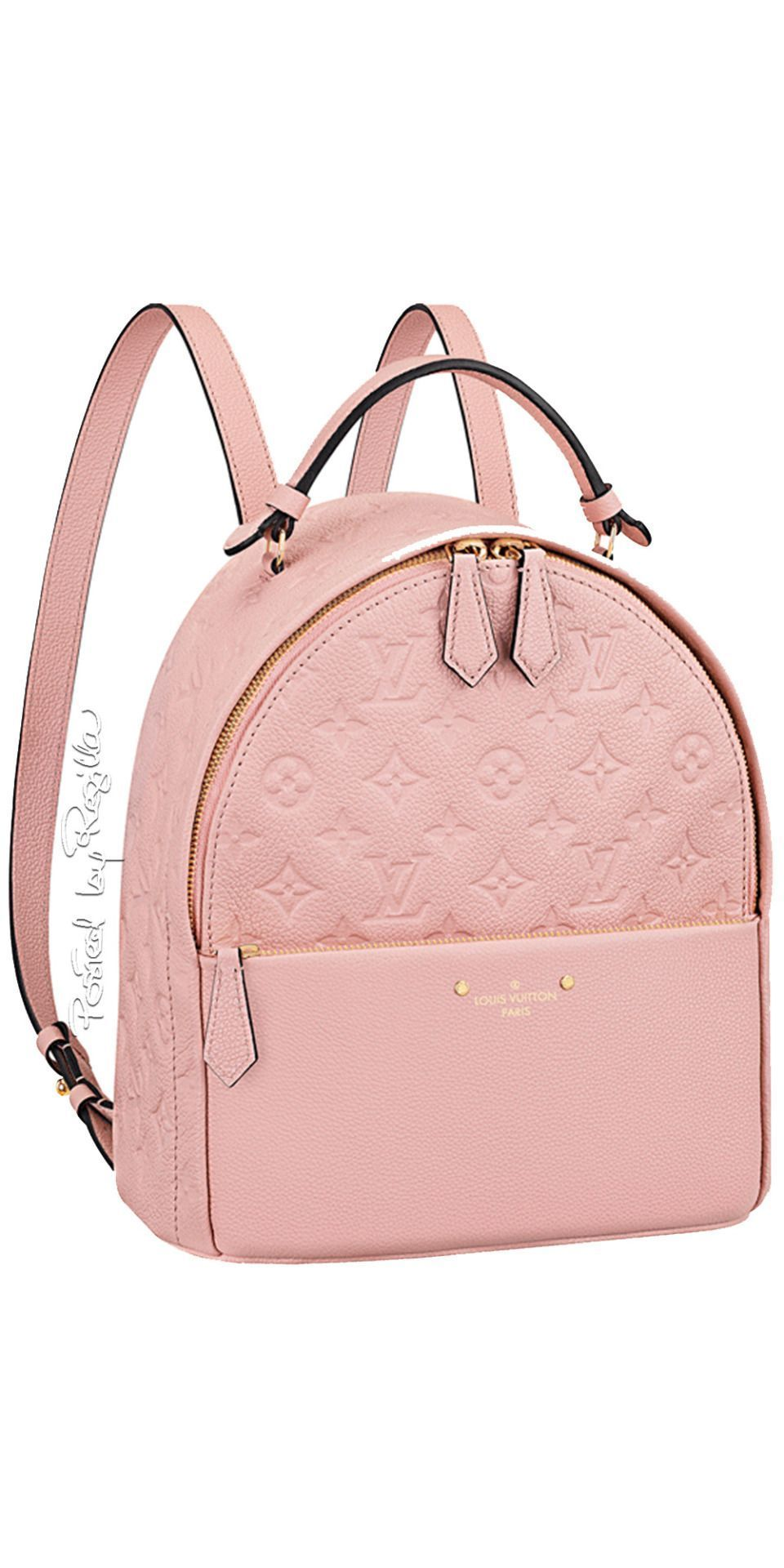 17a671ab4e3 LIGHT PINK LOUIS Back pack BAG!!!  coach  louisvuitton  gucci  pink  bag   purse  louisvuittonhandbags  aesthetic