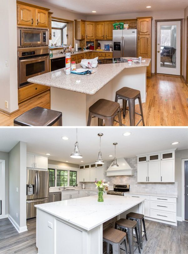 oakstone homes before after honey oak home renovation katalina girl kitchen remodel on kitchen remodel must haves id=77187