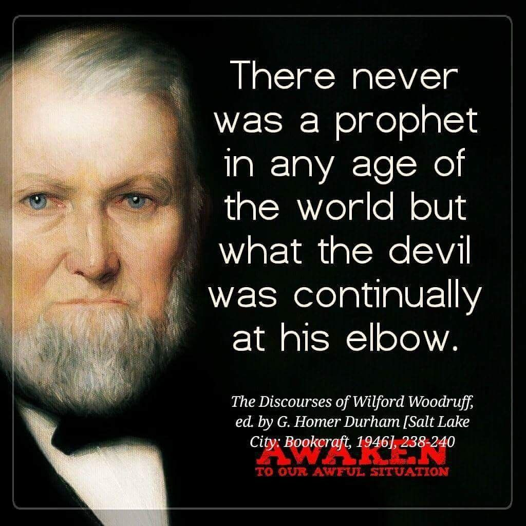 Wilford Woodruff Gospel Quotes Pinterest Lds Quotes Church