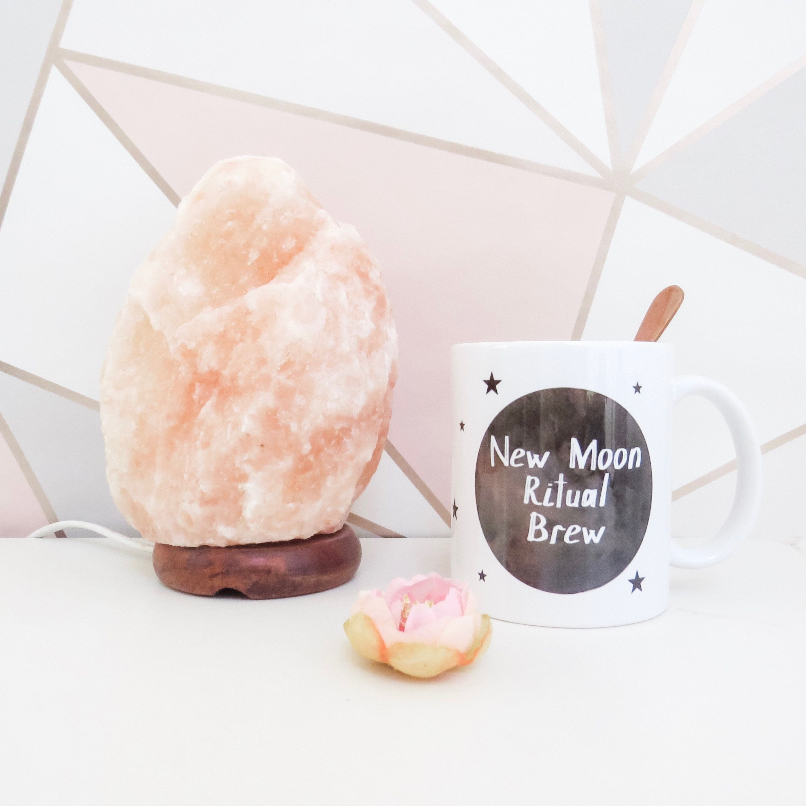 New Moon Ritual Brew Quote Ceramic Mug #newmoonritual