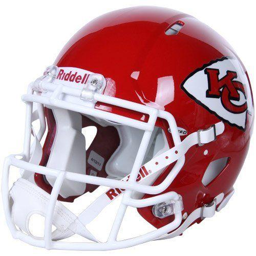 Nfl Kansas City Chiefs Speed Authentic Football Helmet By Riddell 224 32 Available In Official Te Kansas City Chiefs Football Helmets Nfl Kansas City Chiefs