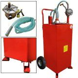 Get A 30 Gallon Gas Tank Caddy Gasoline Fluid Diesel Pump Storage Tank Gas Cans Gas
