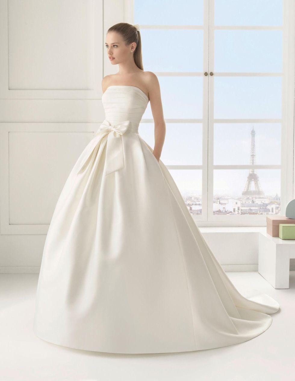 Vestiti Da Sposa In Raso.Abito Da Sposa Raso Duchesse Abiti Da Sposa Sposa Abiti Da