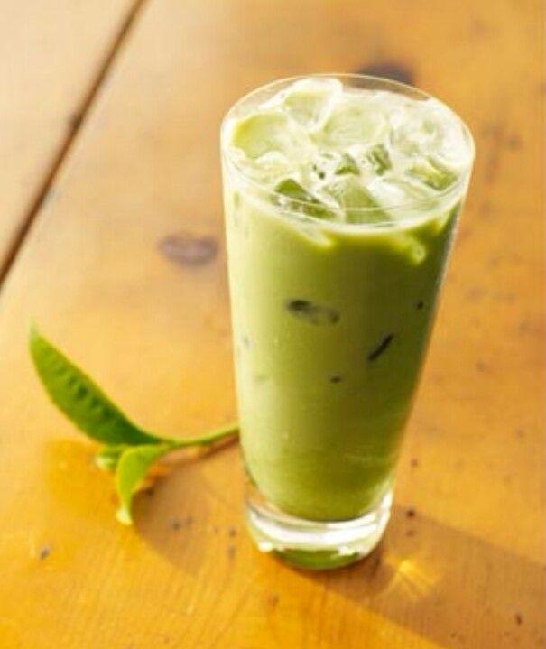 Green Tea Latte With Coconut Milk