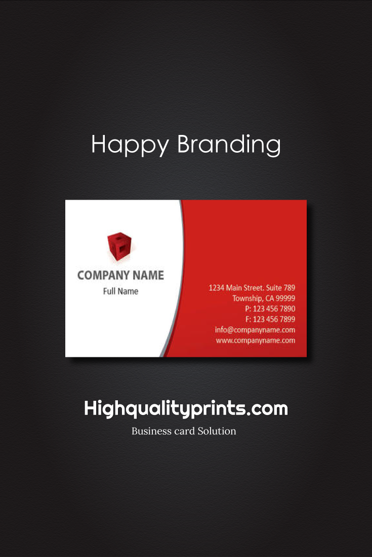 Simple and clean business card design & printing USA - #businesscard ...