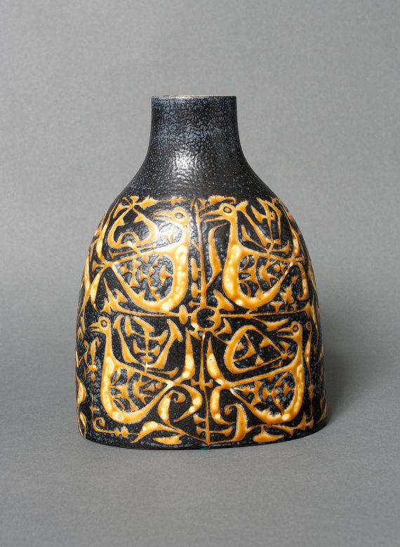 Royal Copenhagen Nils Thorsson Baca Fajance Vase 7143223 Pillow