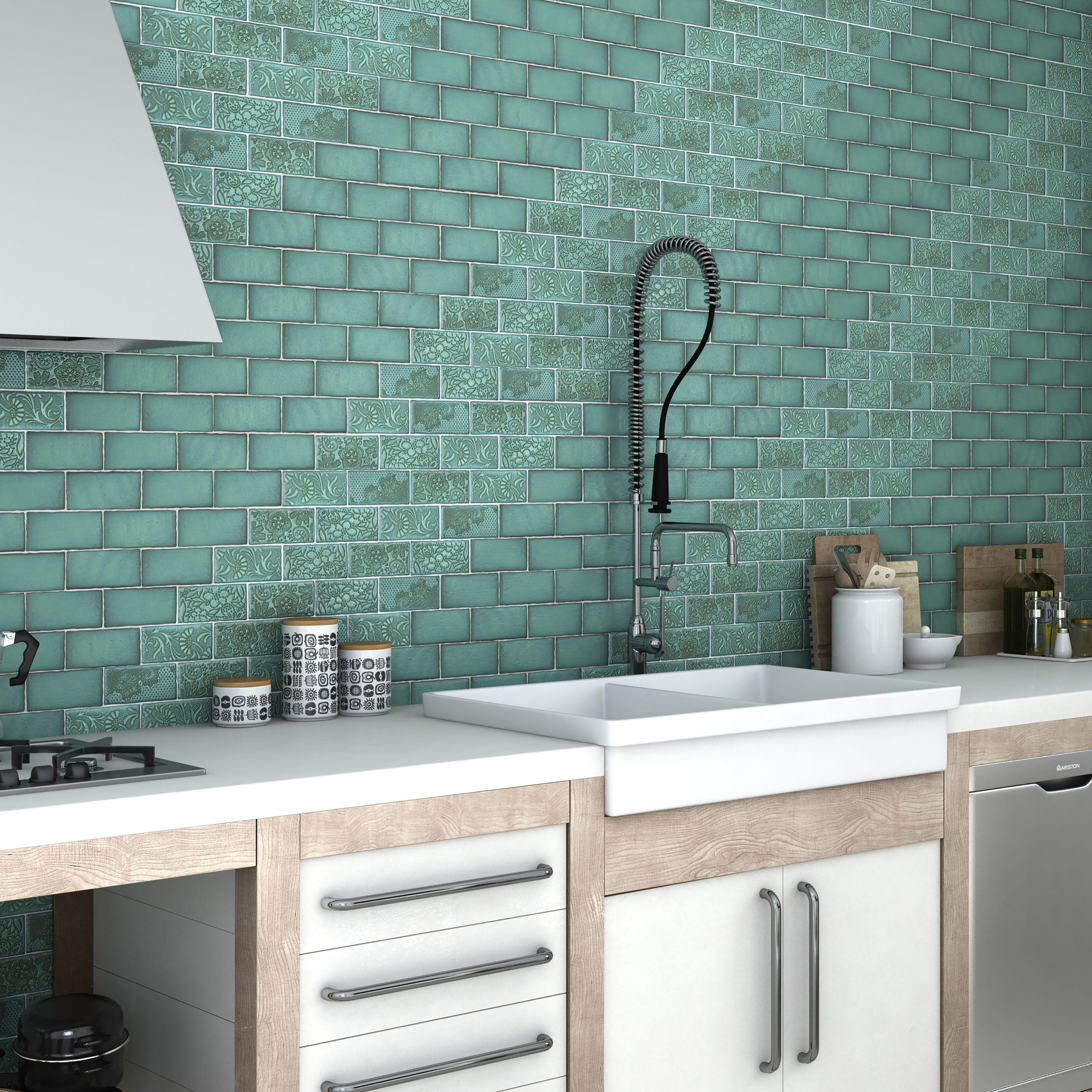 Antiqua Feelings 3 X 6 Ceramic Subway Tile Ceramic Wall Tiles