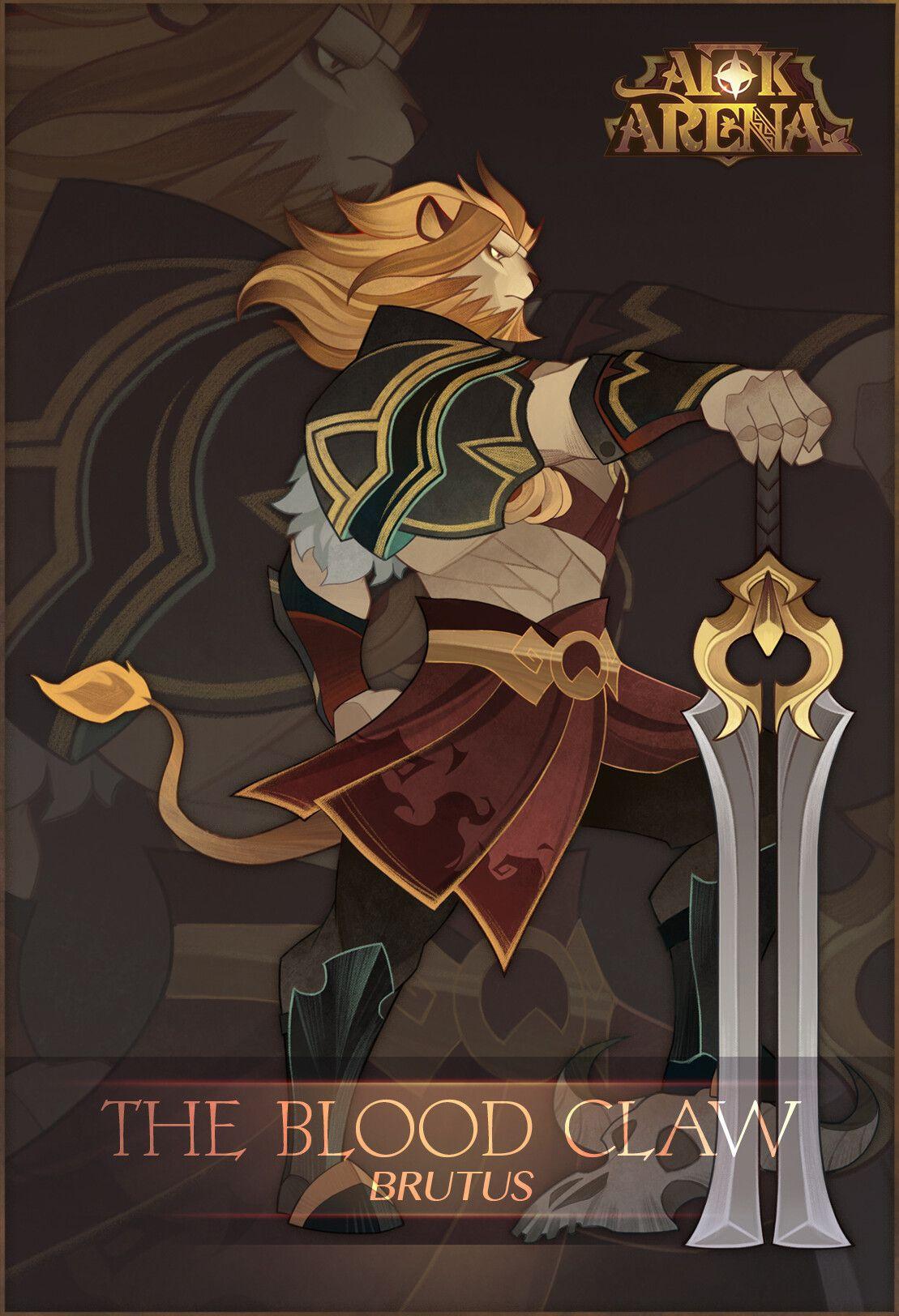 Artstation Afk Arena Characters Aric Athesis Afk Fantasy Character Design Cartoon Art Styles