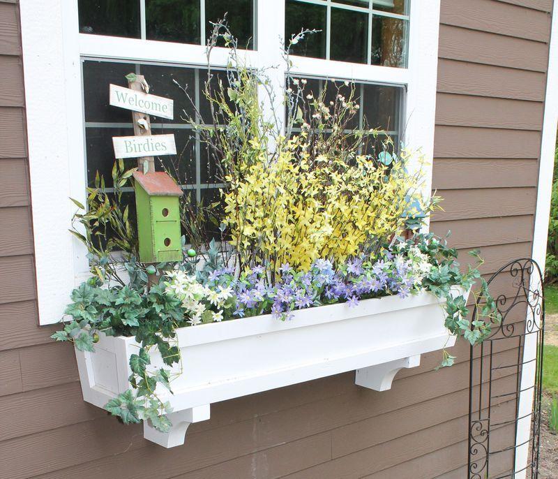 9 creative ideas for a diy window box window boxes diy