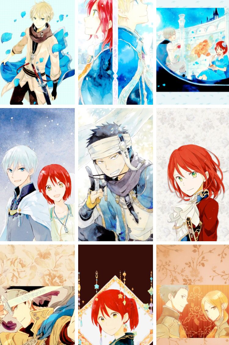 Akagami no Shirayukihime - Zen and Shirayuki #manga #anime