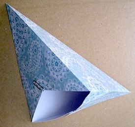 Card Triangle Box Failure 275x258 Out Of Old Christmas Cards | Greeting  Cards Crafts | Pinterest | Triangles, Box And Christmas Cards
