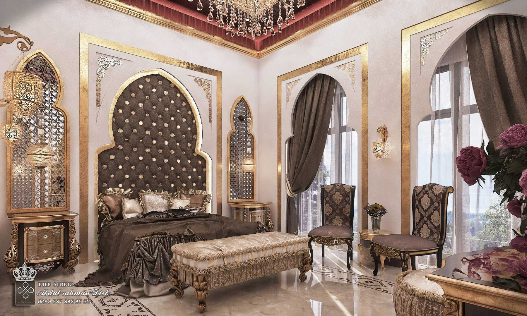 Young Bedroom With Royal Touches Ksa Royal Bedroom For Girl