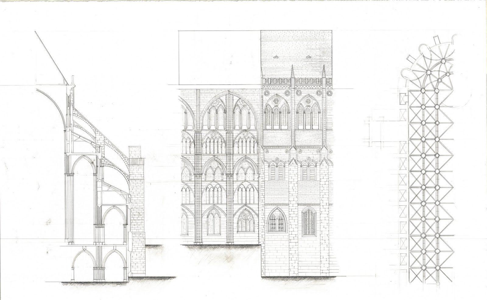 gothic architecture drawing Google zoeken wiser Pinterest