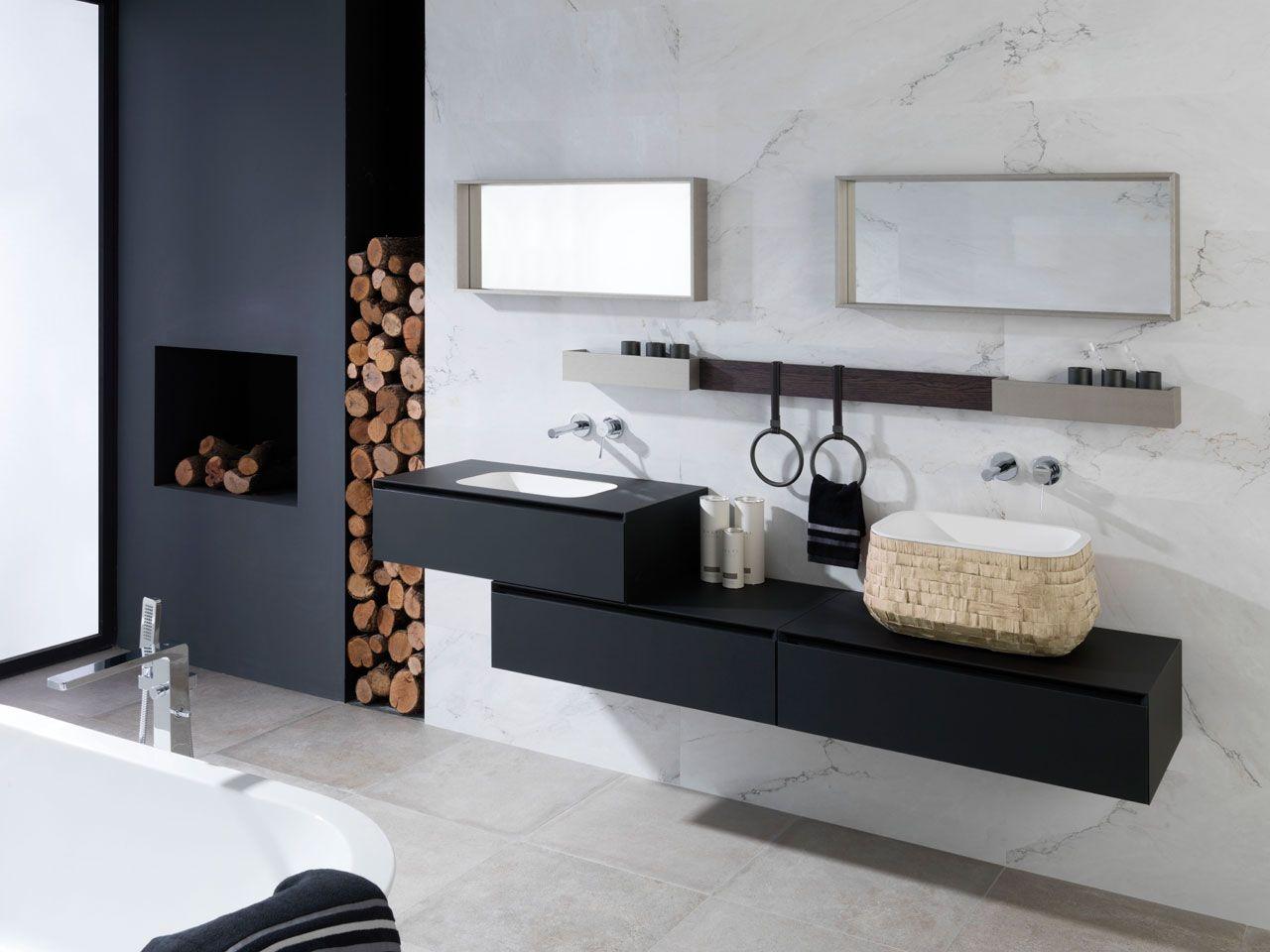 Modular Bathroom Cabinets soft negro ghost / roble noche   bathrooms   pinterest   bathroom