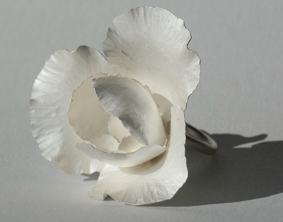 Ring | Anne Leger.  Sterling silver.