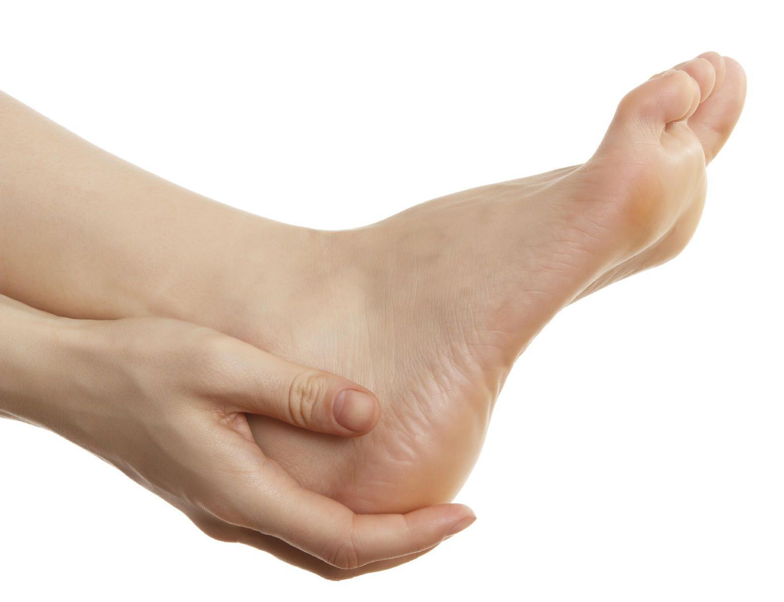frottement talon chaussures traitement