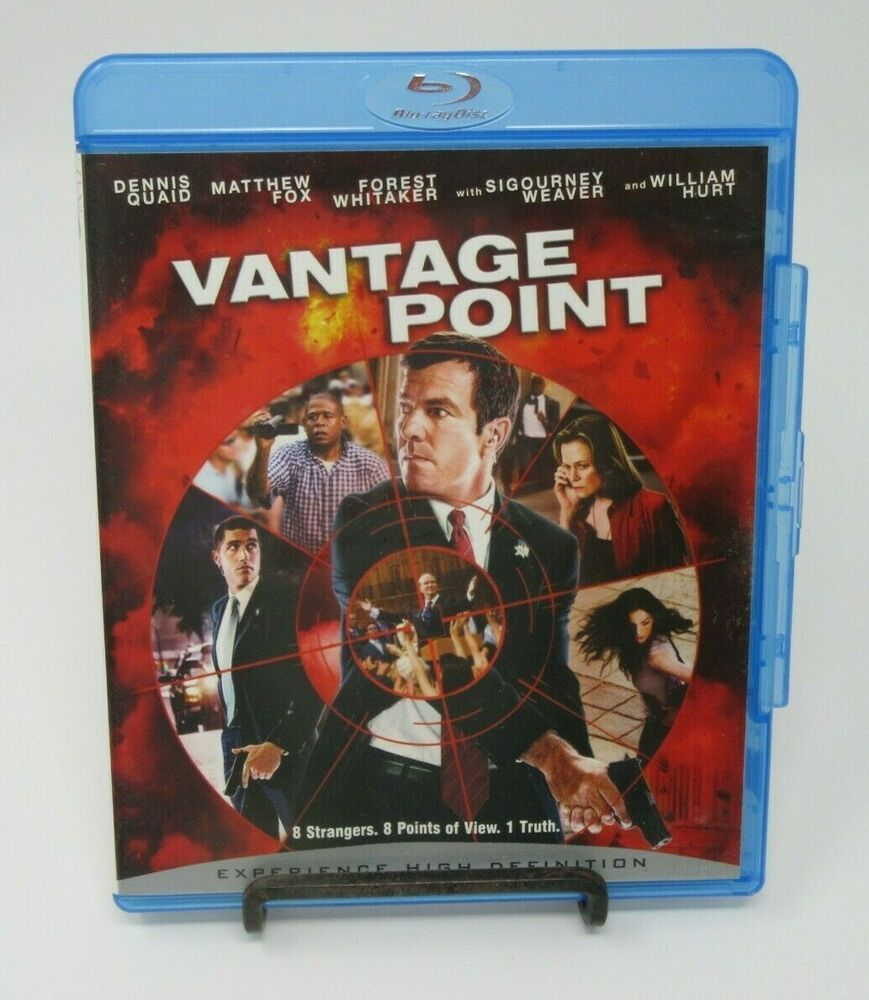 VANTAGE POINT BLURAY MOVIE, DENNIS QUAID, MATTHEW FOX