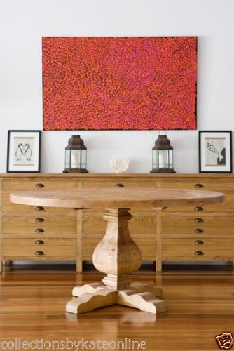 French-Provincial-Reclaimed-Recycled-Pedestal-Timber-Dining-Table