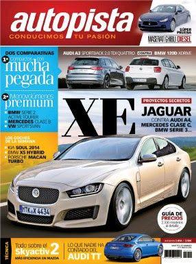 REVISTA AUTOPISTA Audi A3&BMW 120D-jAGUAR - MASERATI GHIBLI - Precios y mas #leonesp #elglobo #villaobispo #villaquilambre