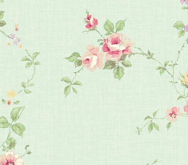 Interior Place - Foam Small Rose Wallpaper, $23.40 (http://www.interiorplace.com/foam-small-rose-wallpaper/)