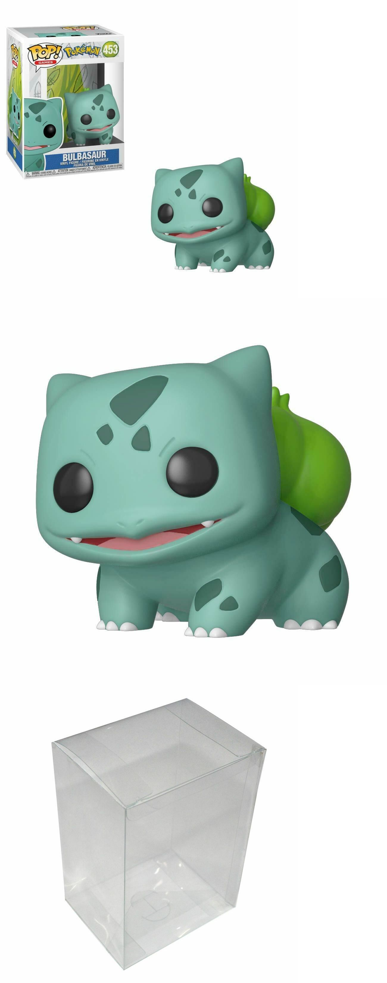 5cc3152a Other Action Figures 348: Bulbasaur - Funko Pop! Animation: Pokemon #453  With