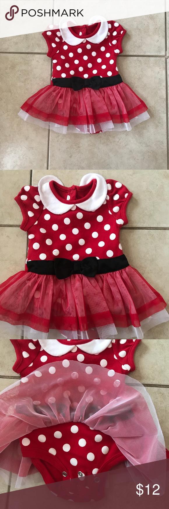Minnie Mouse Onesie Dress Very cute Minnie Mouse Dress