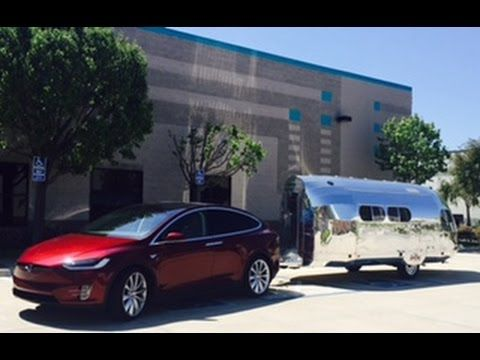 Tesla Model X Trailer Towing How Much Range Impact On Electric