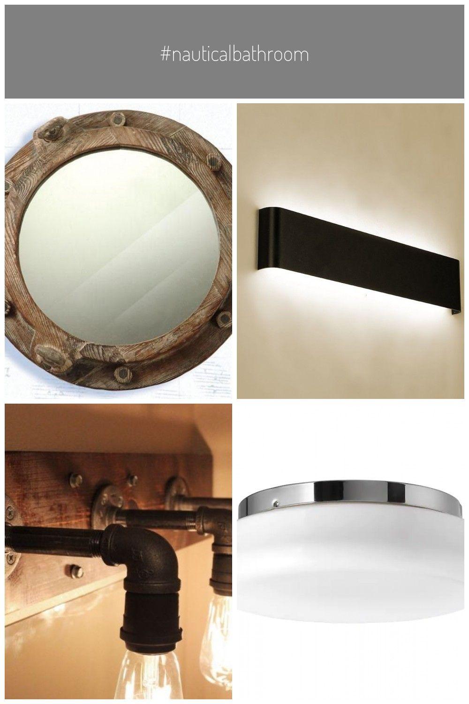 Nauticalbathroom Badezimmer Lampe Spiegel In 2020