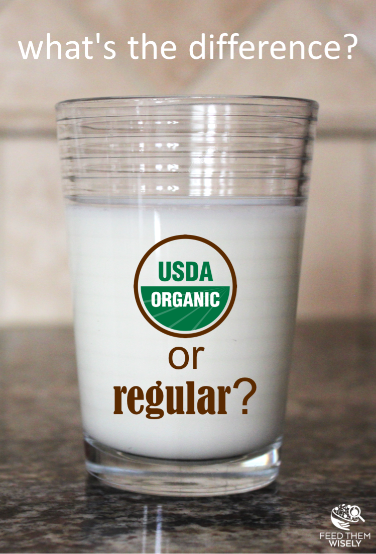 What are the differences between organic and conventional milk? Understand the differences in how cows are raised, and what it means for the milk we drink. #milk #organicmilk #knowledgeispower #knowwhatyouareeating #dairy #healthychoices #milkforkids #nutrition #healthylife