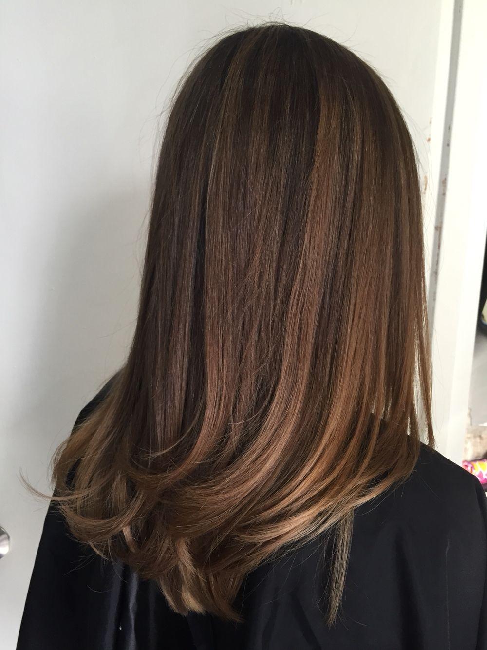 Natural Looking Balayage Highlights Hair Balayage Hair