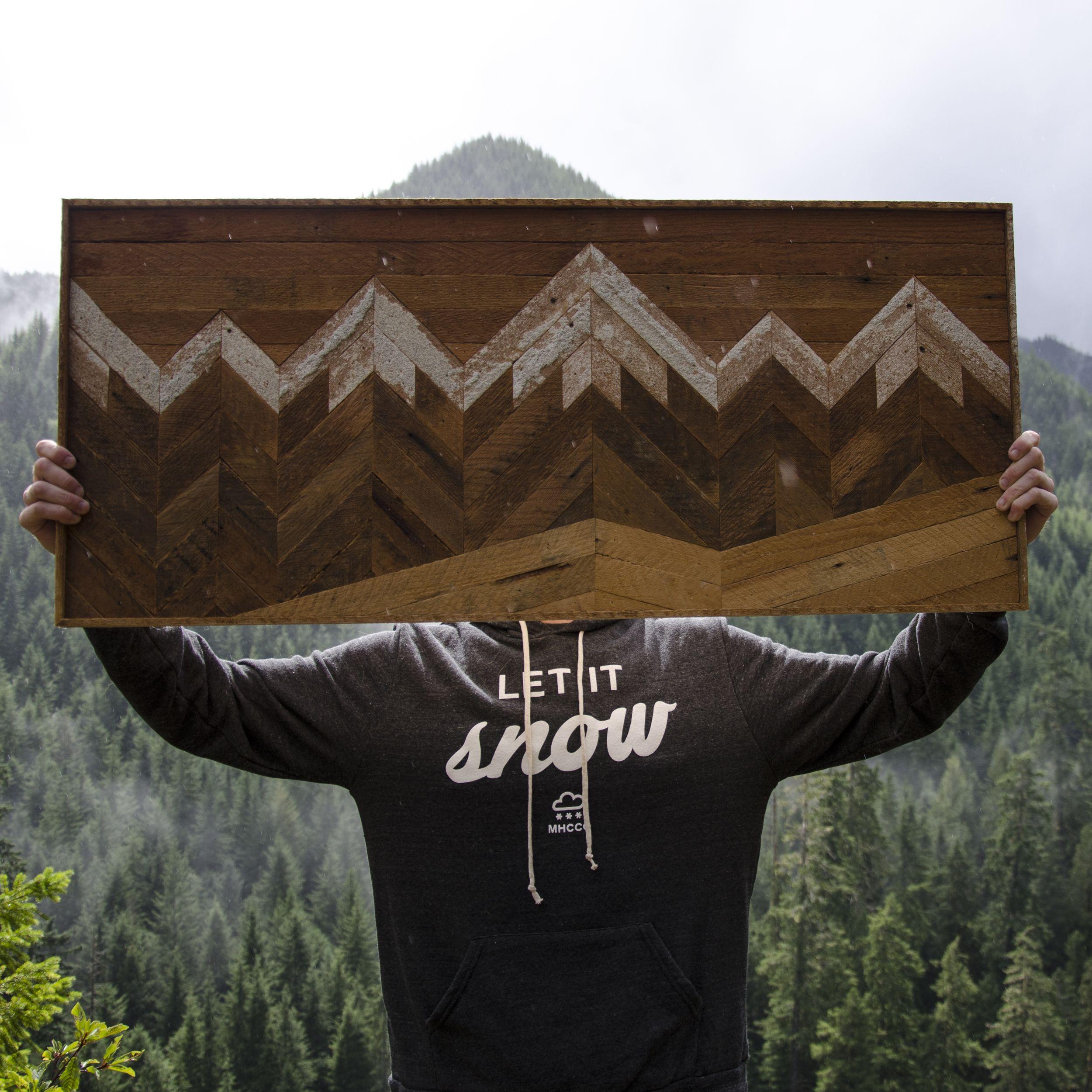 Mountain Range My Style Custom Woodworking Woodworking
