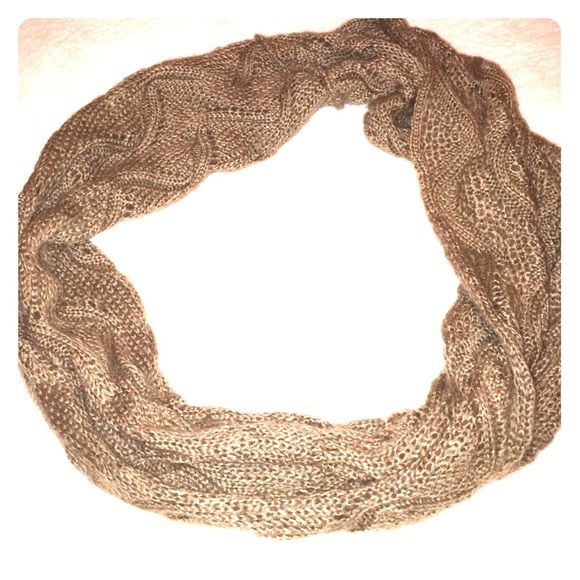 brown scarf all brown, worn once Forever 21 Accessories Scarves & Wraps