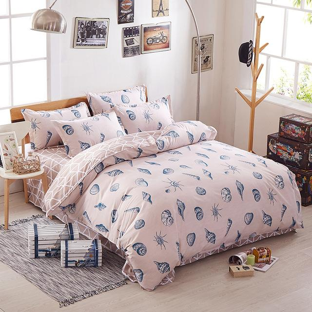 Bedding Sets Collection Here Winlife Unicorn Duvet Cover Set Forest Bedding Pink Duvet Cover With Zipper For Girls Boys Kids
