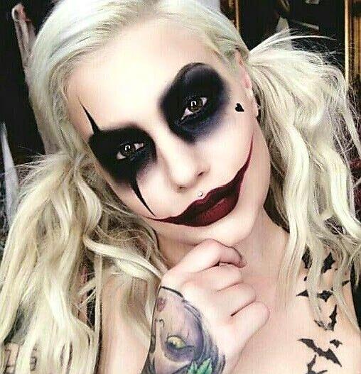 Pin de Heather Brinkley en Halloween Pinterest Maquillaje