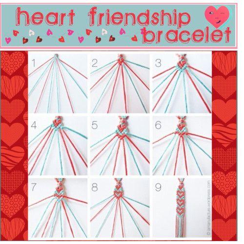 pdf how to make friendship bracelets