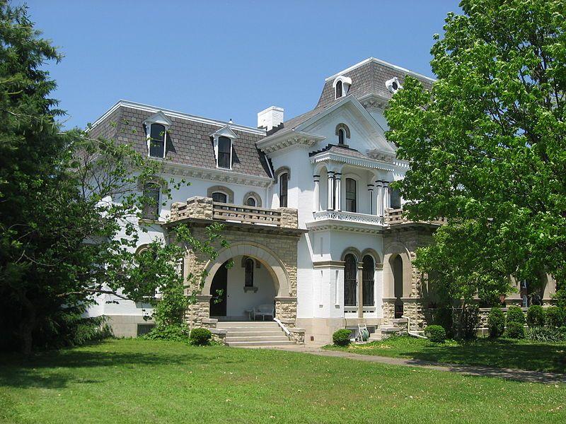 File Millen Schmidt House From South Jpg Xenia Ohio Beavercreek Ohio National Register Of Historic Places