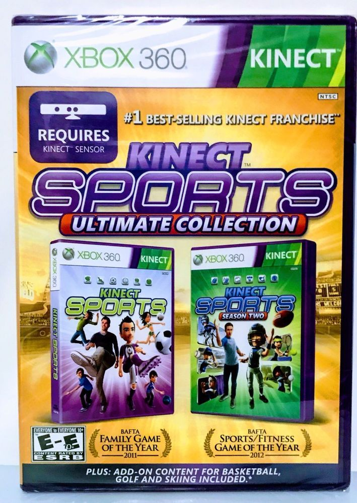 NEW KINECT SPORTS ULTIMATE COLLECTION MICROSOFT XBOX 360