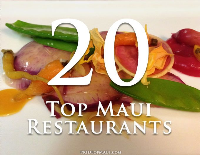 Top 20 Restaurants On Maui Best Places To Eat Fine Dining