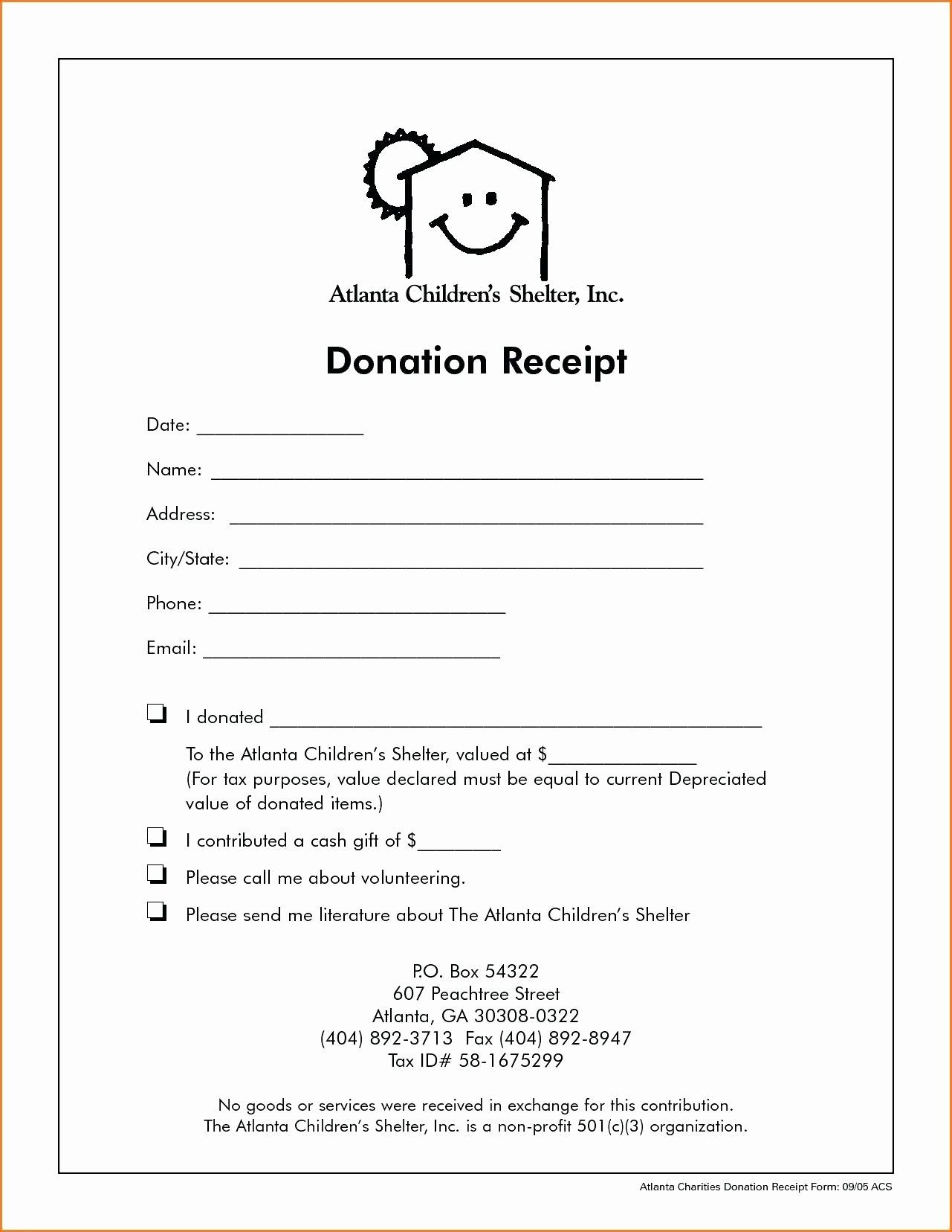 Charitable Contribution Letter Template Best Of Template Receipt Letter Template Printable Letter Templates Letter Templates Donation Letter Template