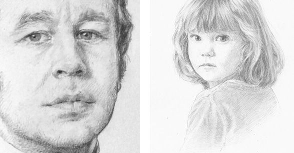top tips for drawing pencil portraits charcoal pinterest