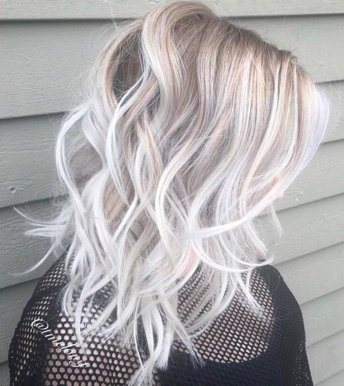 Short platinum blonde hair hair in pinterest short