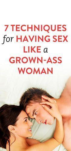 Techniques of having sex