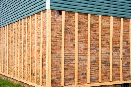 Strapping Over Existing Facade To Mount New Cladding Exterior Brick Wood Siding Exterior Vinyl Siding