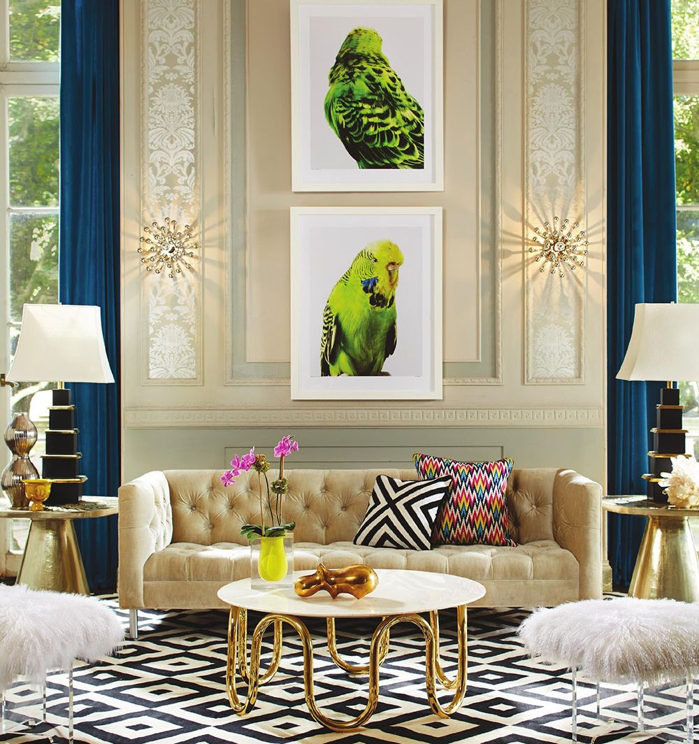 Glam it up: Jonathan Adler Fall 2013 | Catalog, Interiors and ...